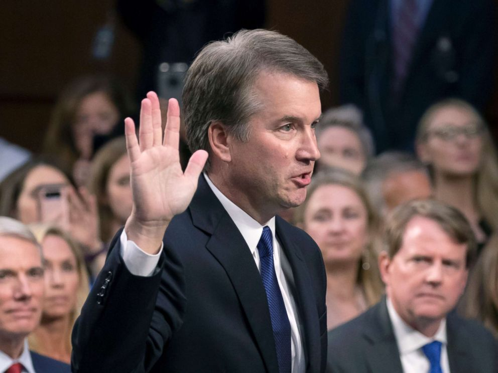 Hearing With Kavanaugh And Accuser Alleging Sexual Assault In Turmoil