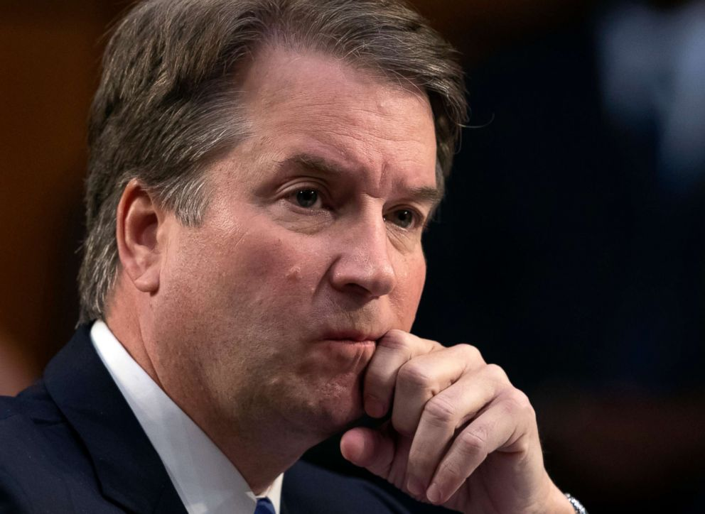 2nd woman claims sexual misconduct by Kavanaugh