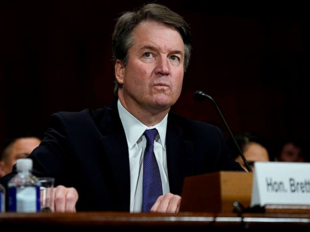 Feds charge man with threatening 2 senators for supporting Kavanaugh