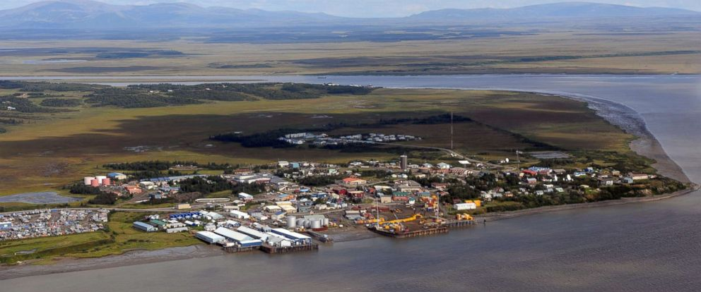 PHOTO: Dillingham, Alaska, a fishing community of 2,300 is the largest town and hub of the Bristol Bay region.