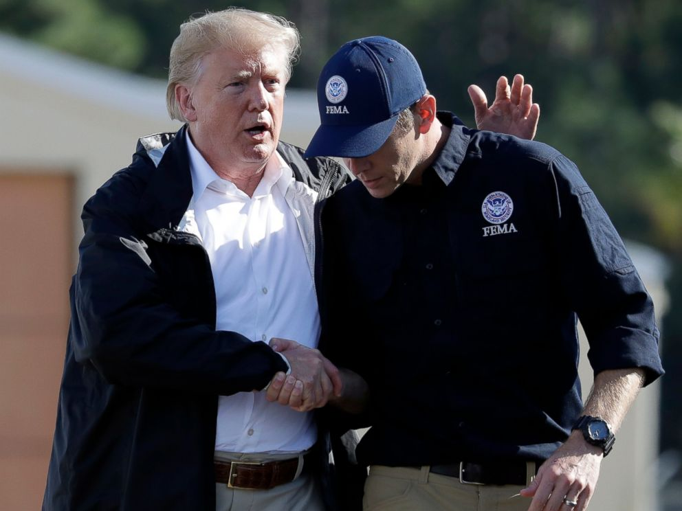 FEMA chief chastised for using government vehicles