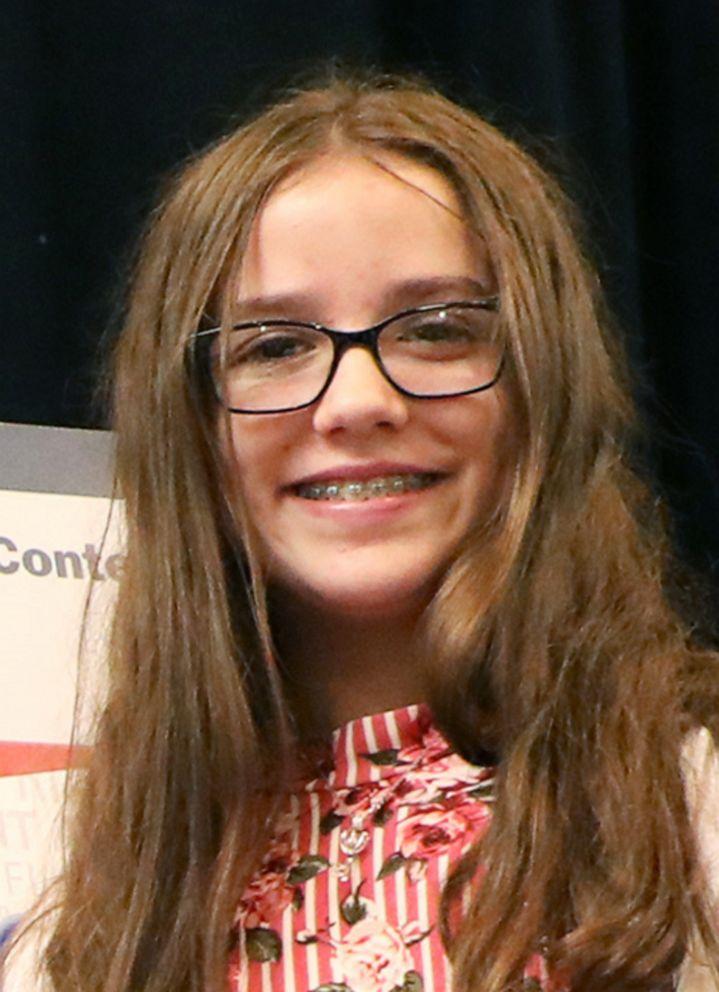 PHOTO: Brooke Balser, the Stop Bullying license-plate design Contest winner.