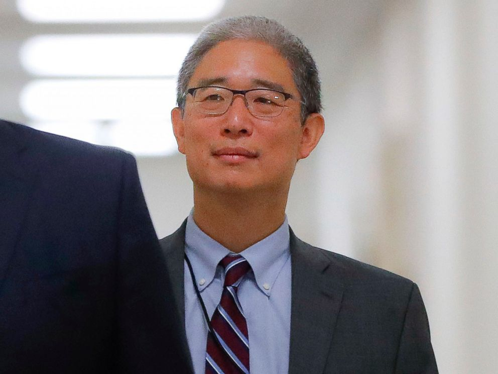 PHOTO: In this Aug. 28, 2018, file photo, Justice Department official Bruce Ohr arrives for a closed hearing of the House Judiciary and House Oversight committees on Capitol Hill in Washington.