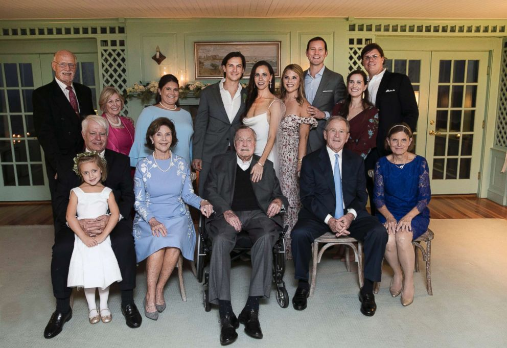 PHOTO: Barbara Pierce Bush married Craig Louis Coyne in a private family ceremony at Walkers Point in Kennebunkport, Maine, Oct. 7, 2018.