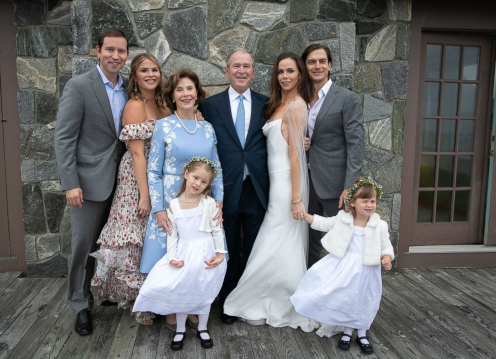 Former First Daughter Barbara Bush Got Married And Only Invited 20
