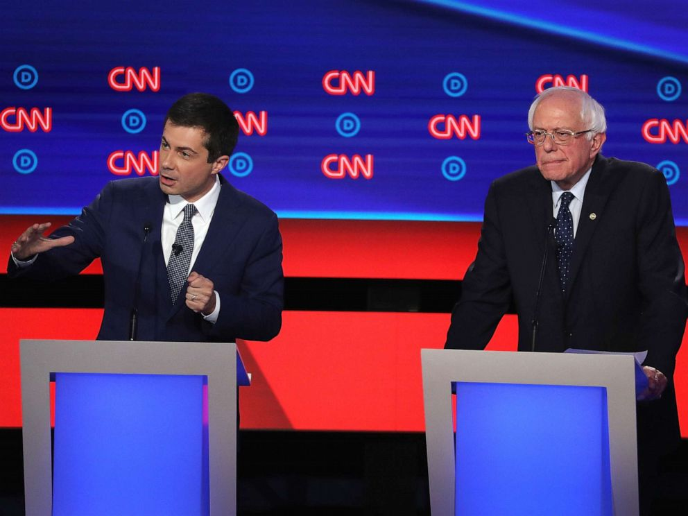 Democrats Are Spotlighting Big >> Democratic Debate 2019 Progressives Take Center Stage In Heated