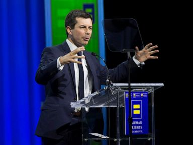 Pete Buttigieg says Donald Trump paying lip service to LGBT rights