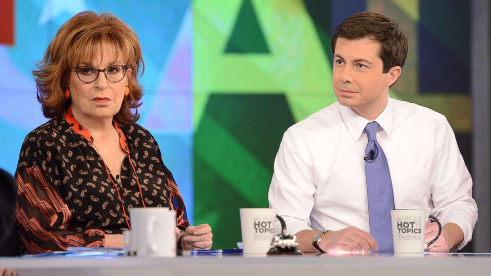 """Mayor of South Bend, Indiana and and democratic presidential candidate Pete Buttigieg visits ABC's """"The View"""" on Jan. 31, 2019."""