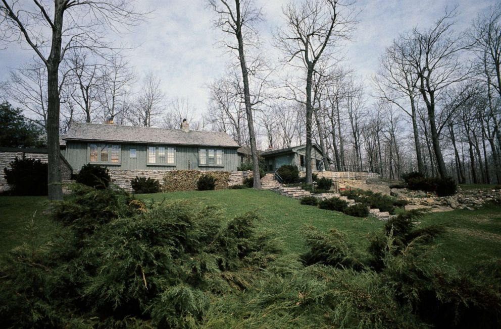 PHOTO: Aspen Lodge at Camp David, April 9, 1968.