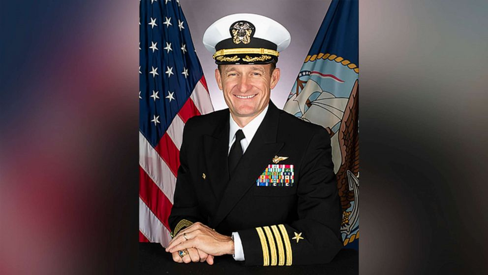 Navy Fires Captain Of Aircraft Carrier Over Leak Of Letter To