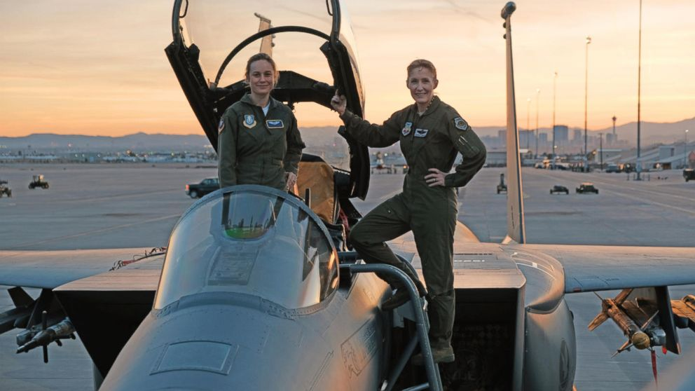 Air Force S 1st Female Fighter Pilot Jeannie Leavitt Helped Bring Captain Marvel To Life Abc News Captain marvel is a 2019 superhero film in which carol danvers becomes one of the most powerful heroes of the time. air force s 1st female fighter pilot