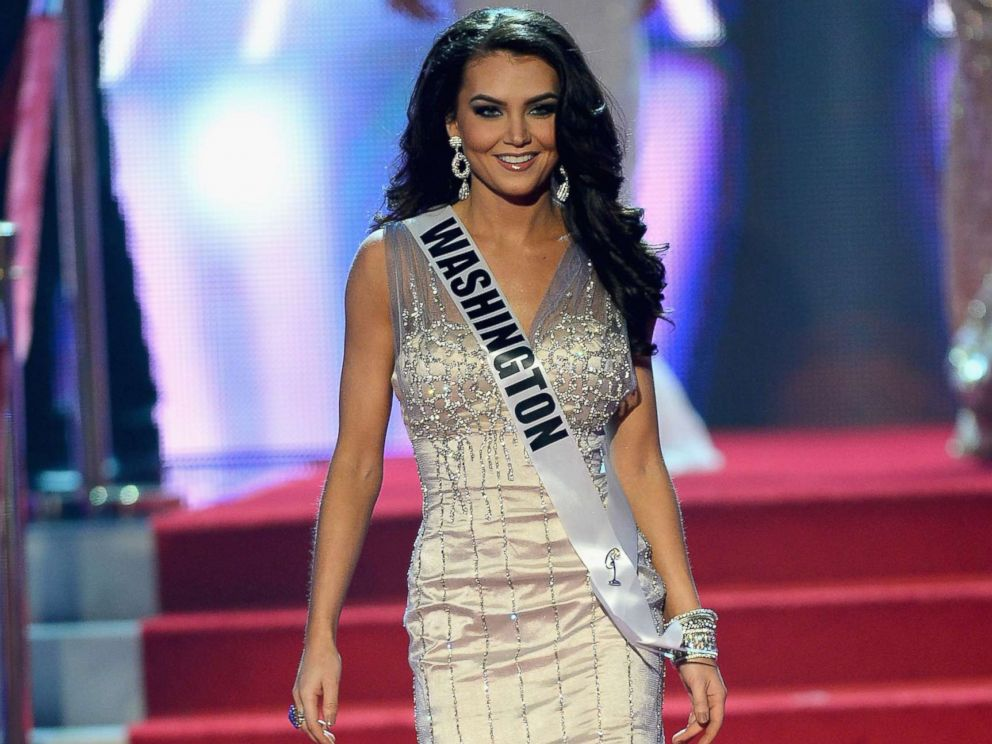 PHOTO: Miss Washington USA, Cassandra Searles, is introduced during the 2013 Miss USA pageant at PH Live at Planet Hollywood Resort & Casino, June 16, 2013, in Las Vegas.