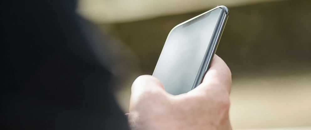 PHOTO: A person uses a smartphone in an undated stock photo.