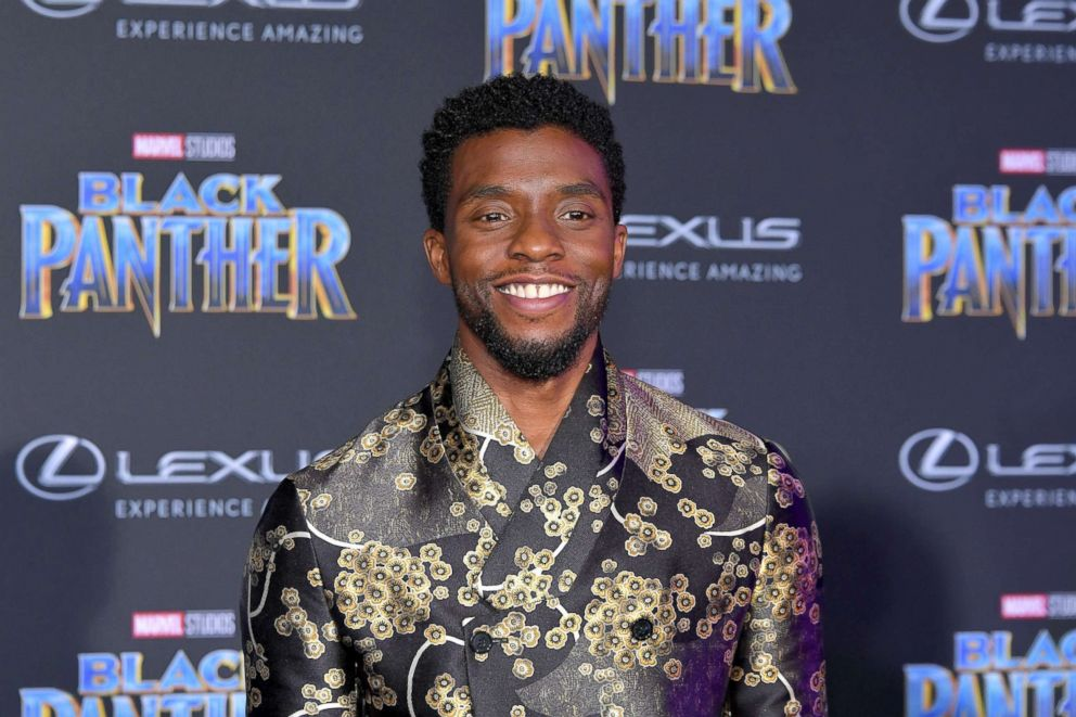 PHOTO: Chadwick Boseman attends the premiere of Disney and Marvels Black Panther at Dolby Theatre, Jan. 29, 2018, in Hollywood, Calif.