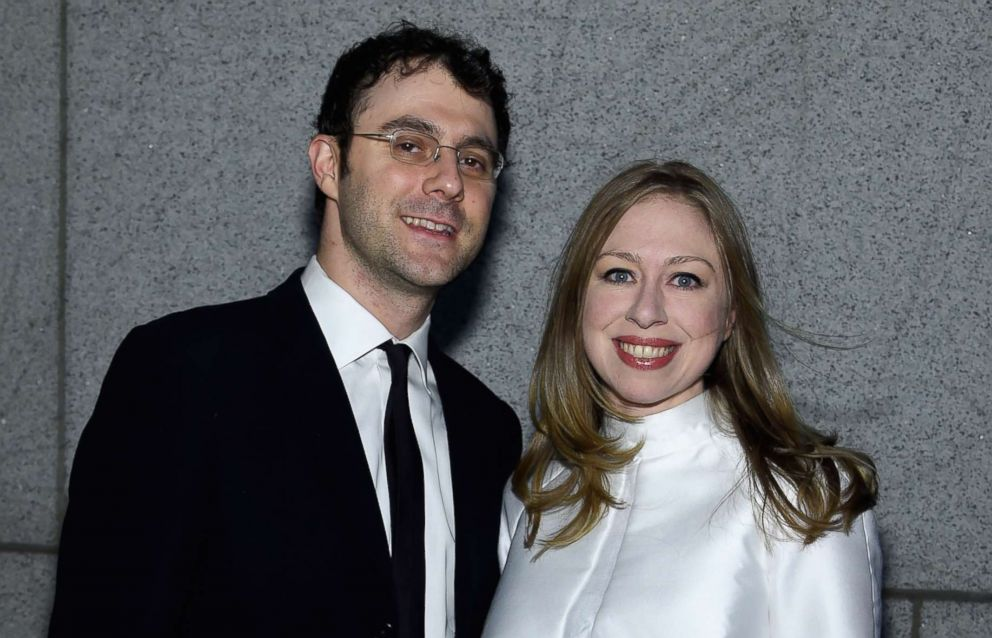 PHOTO: Marc Mezvinsky and Chelsea Clinton attend the 2015 amfAR New York Gala, Feb. 11, 2015, New York.