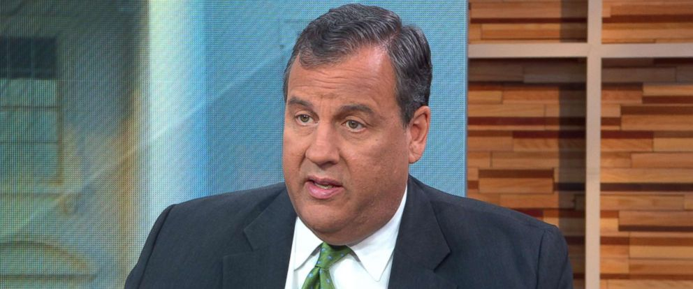 "PHOTO: Chris Christie appears on ""Good Morning America,"" May 3, 2018."