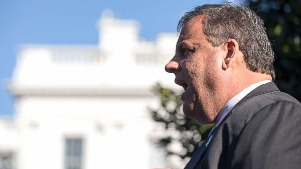 Testy NJ Gov. Chris Christie argues with voter outside polling place