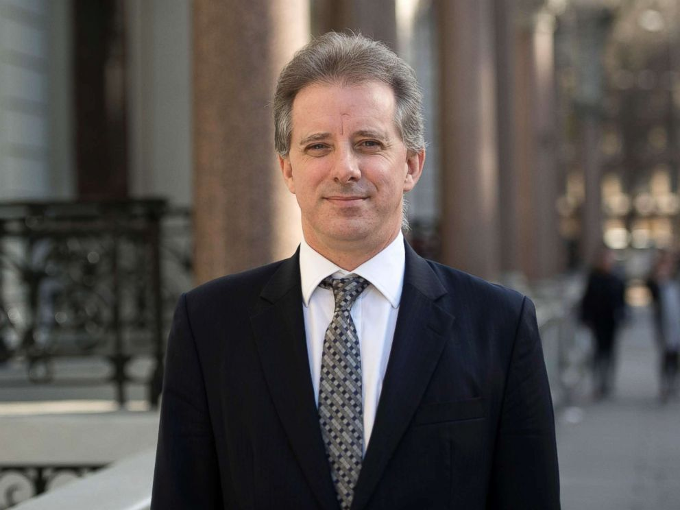 PHOTO: Christopher Steele, the former MI6 agent who set-up Orbis Business Intelligence and compiled a dossier on Donald Trump, in London where he has spoken to the media for the first time.