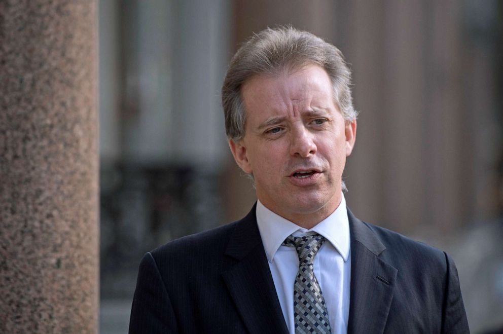 PHOTO: Christopher Steele, former British intelligence officer, walks in London, March 7, 2017.