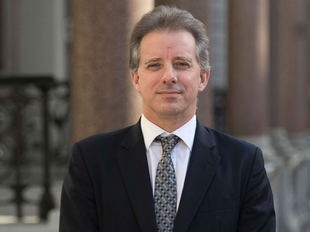 PHOTO: Christopher Steele, the former MI6 agent who set-up Orbis Business Intelligence and compiled a dossier on Donald Trump, is pictured in London, March 7, 2017.