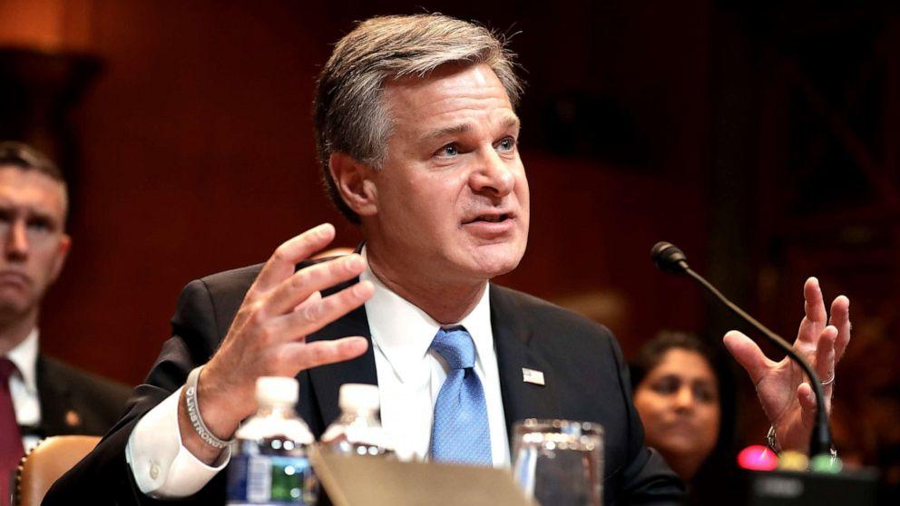 Trump attacks his own FBI director after he defends report finding no anti-Trump plot