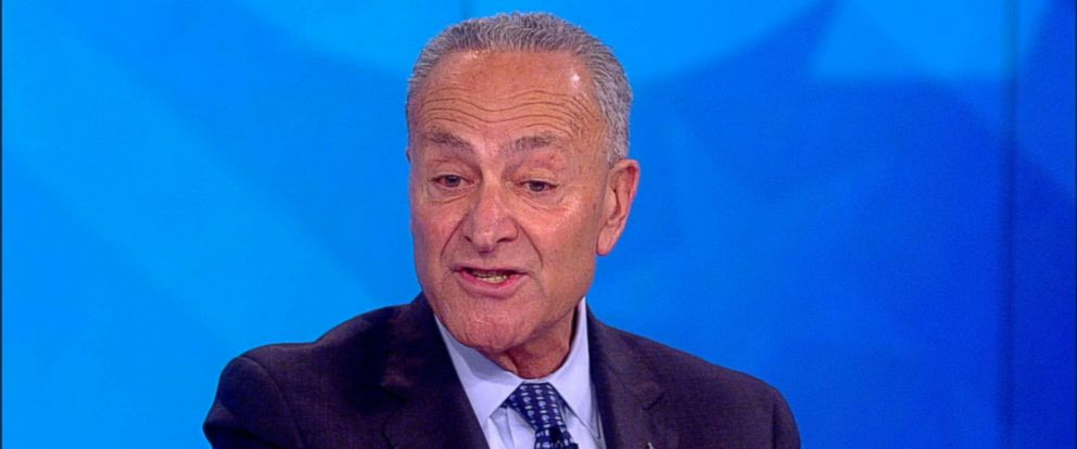 "PHOTO: Chuck Schumer appears on ""The View,"" Sept 17, 2018."