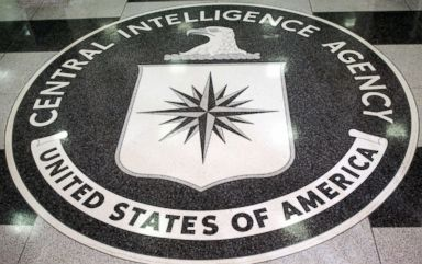 PHOTO: In this file photo, the logo of the U.S. Central Intelligence Agency is shown in the lobby of the CIA headquarters in Langley, Va., March 3, 2005.