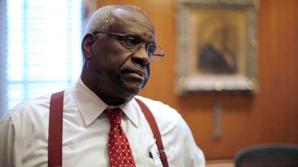 Gerechtigkeit Clarence Thomas tadelt Biden-led-Anhörungen im neuen film
