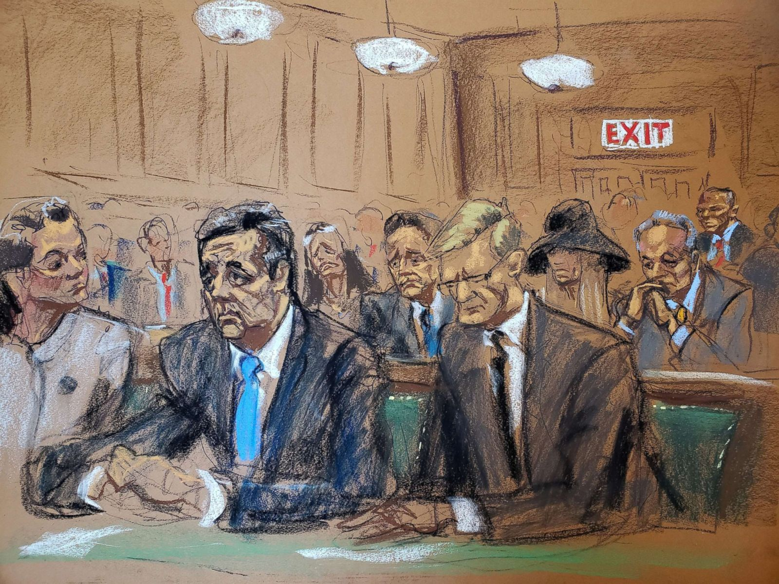 Michael Cohen, in emotional courtroom plea for leniency