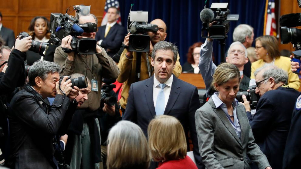 Notable moments from Michael Cohen's testimony about President Donald Trump thumbnail