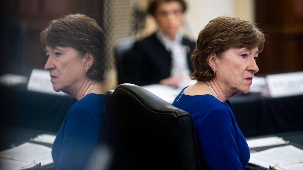 Susan Collins, Congress's last New England Republican, facing toughest reelection yet