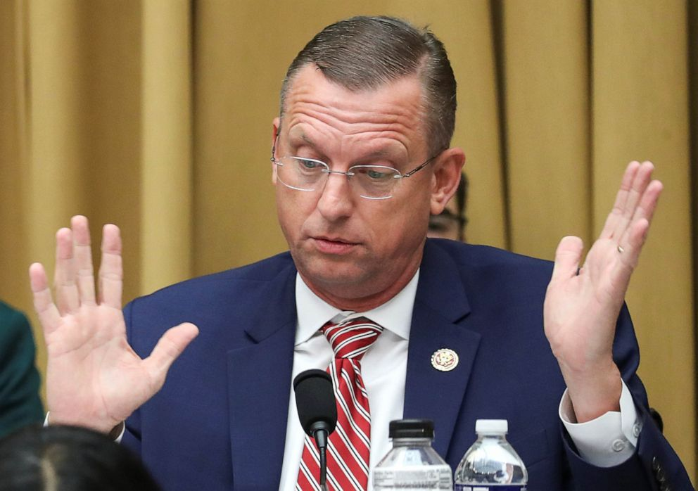 PHOTO: Rep. Doug Collins (R-GA) speaks during a House Judiciary Committee meeting regarding procedures related to its investigation to recommend articles of impeachment with respect to resident Donald Trump on Capitol Hill, Sept. 12, 2019.