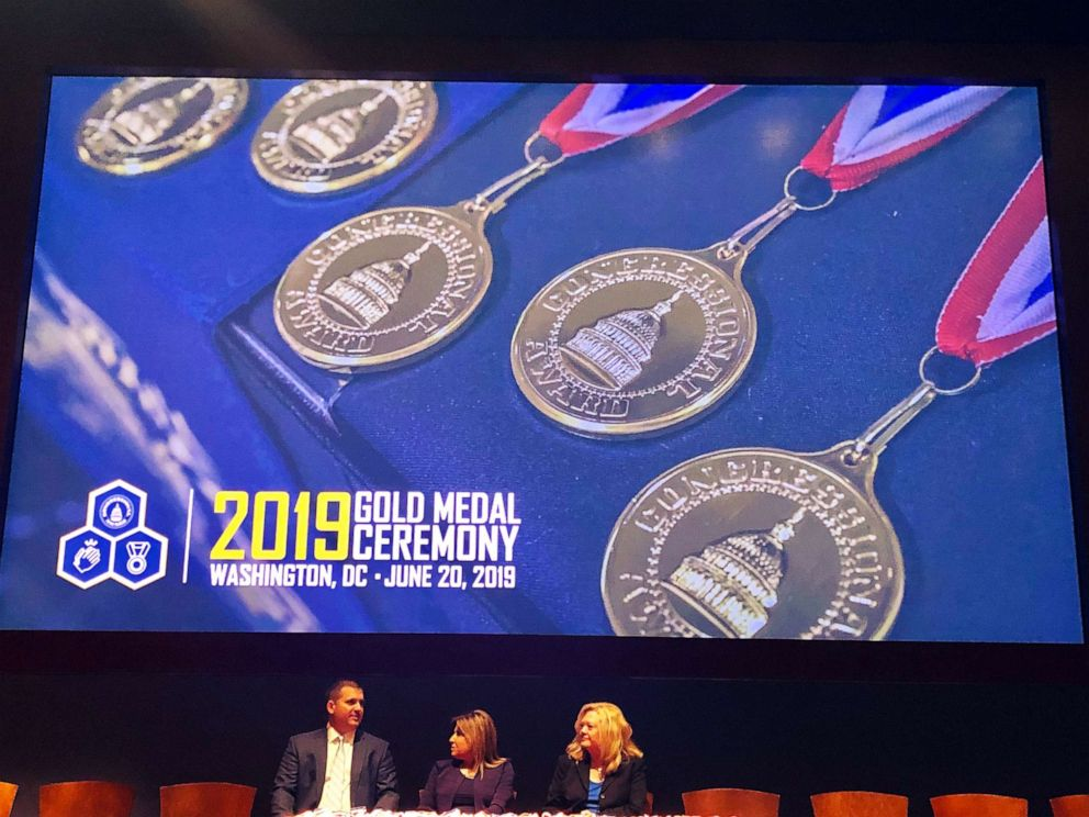 PHOTO: The Congressional Award Gold Medal Ceremony on June 20, 2019, in Washington, D.C., recognized the public service efforts of over 500 young people from around the country.