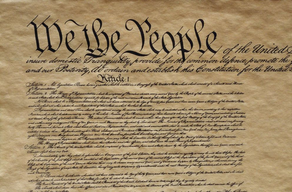 PHOTO: The US Constitution