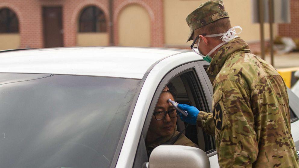 us army coronavirus ile ilgili görsel sonucu