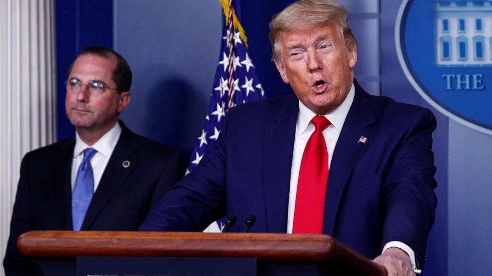 Coronavirus-Regierung response-updates: Trump sagt CDC berät Amerikaner Masken tragen