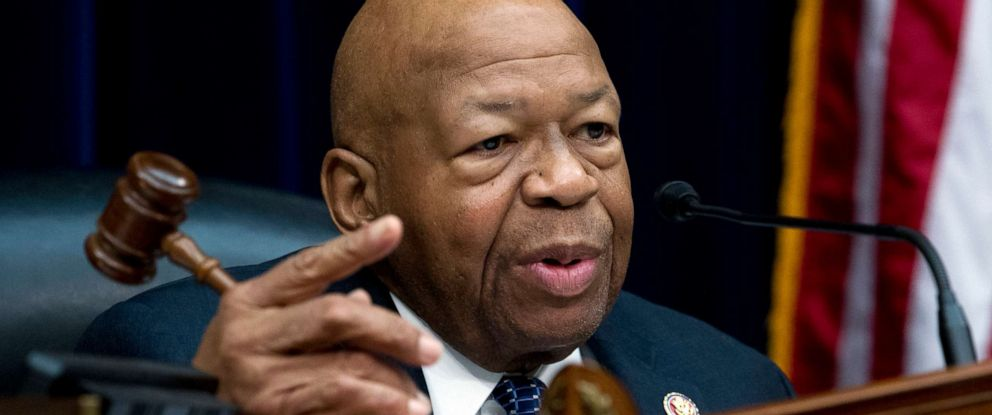 PHOTO: House Oversight and Reform Committee Chair Elijah Cummings speaks on Capitol Hill, March 14, 2019.