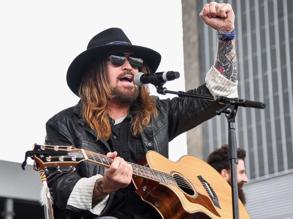 PHOTO: Billy Ray Cyrus performs during Party At The Polls at Ascend Amphitheater, Oct. 20, 2018, in Nashville, Tenn.