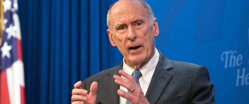 In this Oct. 13, 2017, file photo, Director of National Intelligence Dan Coats speaks at a Heritage Foundation event in Washington. Coats' drumbeat of criticism against Russia is clashing loudly with President Donald Trump's pro-Kremlin remarks.