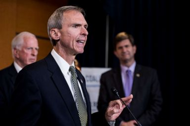 PHOTO: UNITED STATES - OCTOBER 4: Rep. Daniel Lipinski, D-Ill., speaks during the Blue Dog Coalition news conference on tax reform on Wednesday, Oct. 4, 2017. (Photo By Bill Clark/CQ Roll Call)