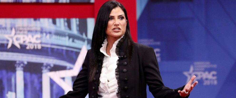 PHOTO: National Rifle Association spokeswoman Dana Loesch speaks at the Conservative Political Action Conference at National Harbor, Md., Feb. 22, 2018.