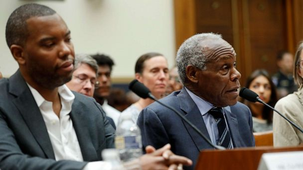 Ta-Nehisi Coates and Danny Glover join renewed debate over reparations on Capitol Hill