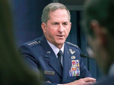 Air Force chief of staff says he loves 'the president is leading' space discussion