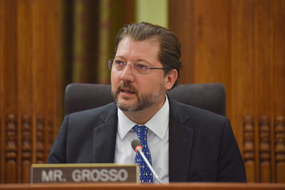 PHOTO: D.C. City Councilmember David Grosso is shown in this May 2, 2017, file photo, in Washington, D.C.