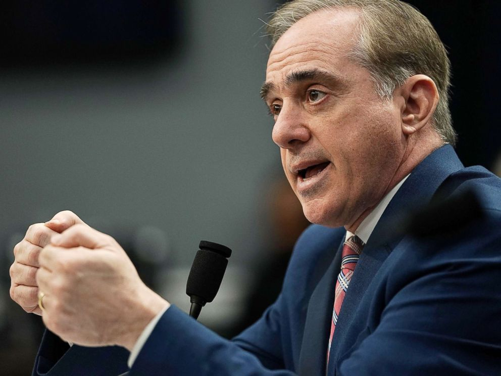 PHOTO: Secretary of Veterans Affairs David Shulkin testifies during a hearing before the Military Construction, Veterans Affairs, and Related Agencies Subcommittee of House Appropriations Committee, March 15, 2018, on Capitol Hill in Washington, D.C.