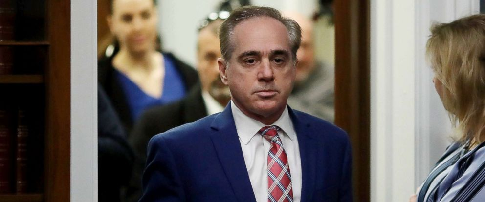 PHOTO: Veterans Affairs Secretary David Shulkin appears before the House Appropriations Subcommittee, March 15, 2018, in Washington, D.C.