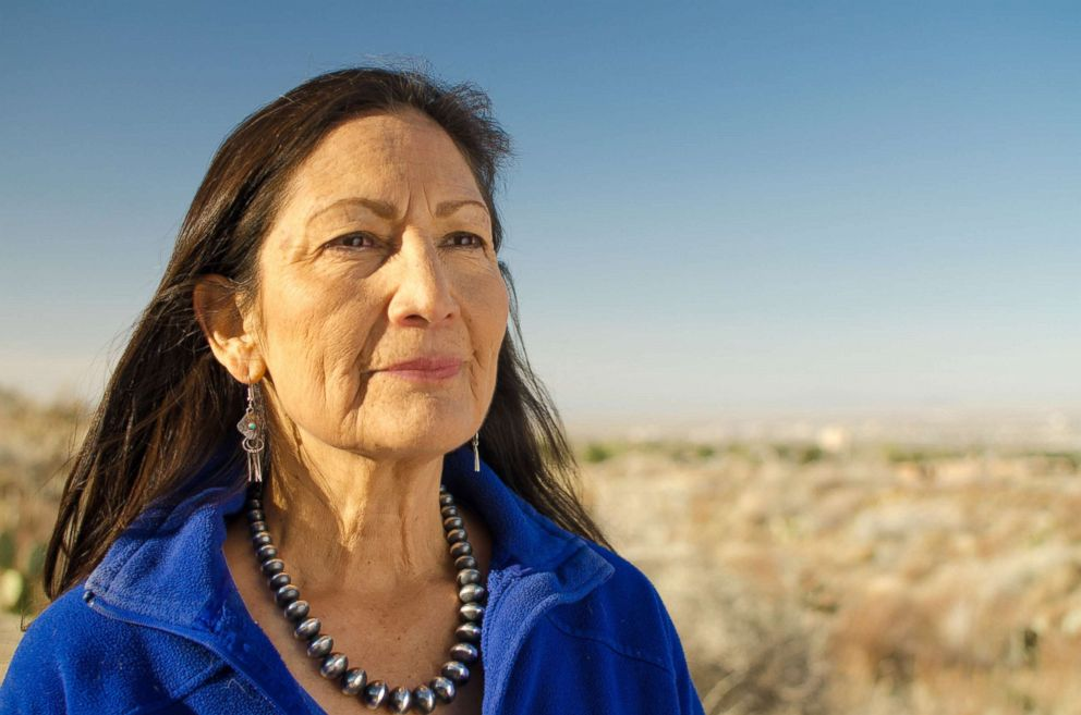 PHOTO: Deb Haaland is on the Democratic ballot in the June 5 primaries for New Mexicos 1st Congressional District. If she wins her partys nominee and wins in the general election, shell become the countrys first ever Native American congresswoman.