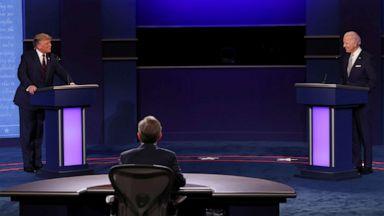 Trump vs. Biden 1st presidential debate key moments