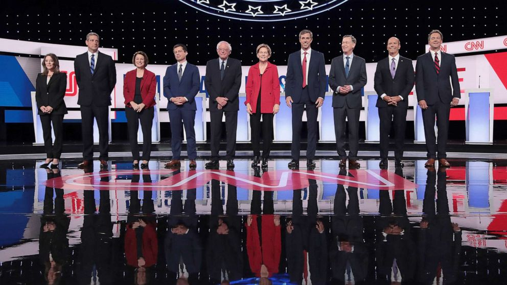 Democratic Debate 2019: Progressives take center stage in heated exchanges thumbnail