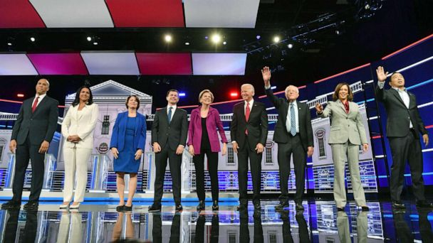 The Note: Race returns to forefront of Democratic race